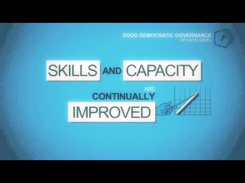 The 12 principles of good governance at local level