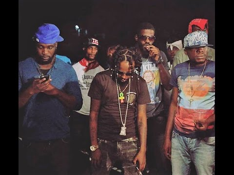 Popcaan Ft Jafrass & Quada - Shot Inna Head Side (Alkaline Diss) January 2017