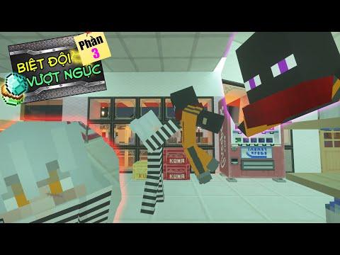 Minecraft Biệt Đội Vượt Ngục (Phần 3) #5- CUỘC CHẠM TRÁN GIỮA JAKI VÀ TRÙM CUỐI ZERO  👮♂️ vs 👺