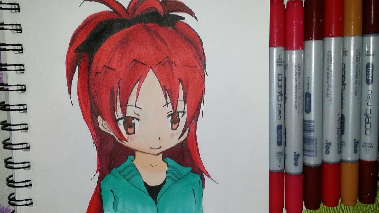 Drawing Kyoko Sakura