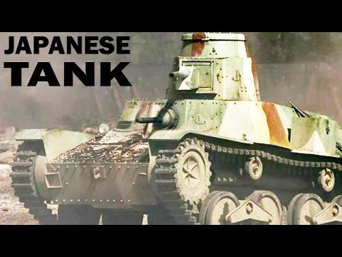 How to Disable a Japanese Tank | Type 95 Ha-Go Light Tank | US Army Training Film | 1944