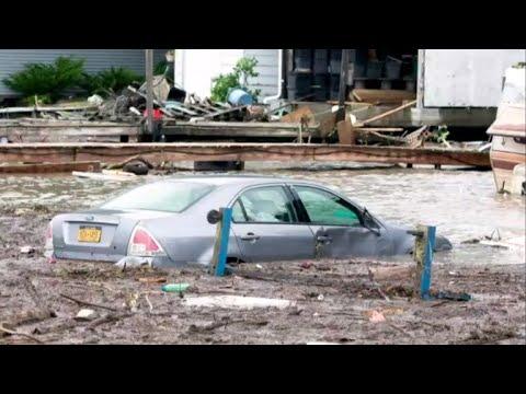 Thunderstorms extend flash flood warnings in New York, Pennsylvania
