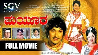 Dr.Rajkumar Blockbuster Movie - Mayura Kannada Full Movie | Kannada Movies full