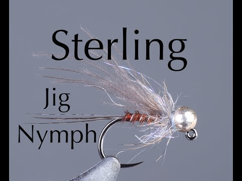 Fly Tying: Sterling Jig Nymph Featuring Kevin Compton