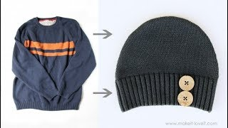 11 Ways to reuse or recycle old sweaters | Learning Process