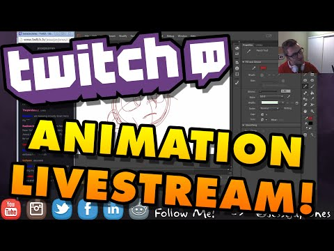 How To Draw & Animate | Twitch Livestream!