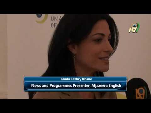 Ghida Fakhry Khane, News and Programmes Presenter, Aljazeera English...