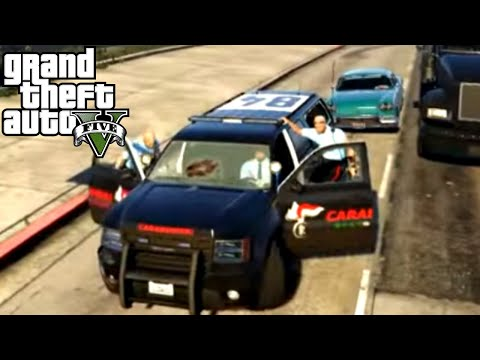 GTA 5 PC Mods - AUTO E UNIFORME CARABINIERI!! MOD POLIZIA - GTA 5 POLICE MOD GAMEPLAY ITA