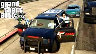 GTA 5 PC Mods - AUTO E UNIFORME CARABINIERI!! MOD POLIZIA - GTA 5 POLICE MOD GAMEPLAY ITA