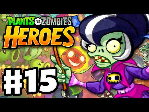 Plants vs. Zombies: Heroes - Gameplay Walkthrough Part 15 - Immorticia! (iOS, Android)