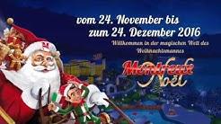 Flying Santa Caus MONTREUX NOEL Weihnachtsmarkt