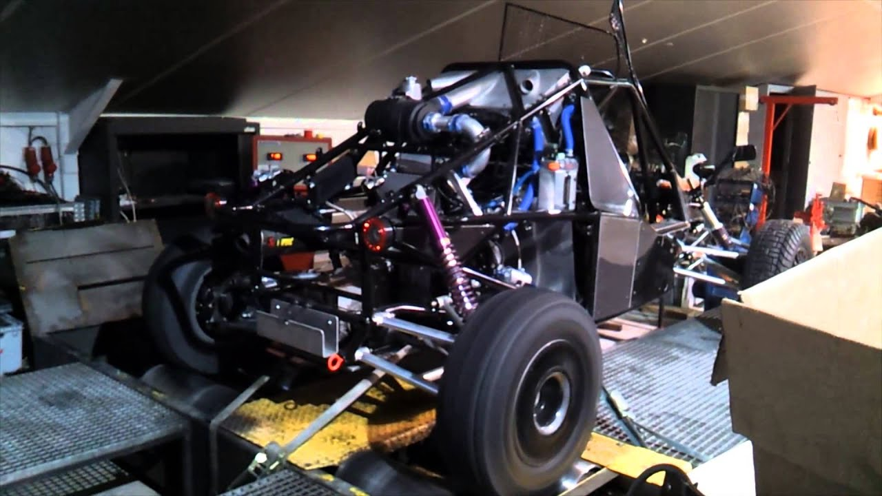 Dakar Gokobra Racing Buggy Suzuki Hayabusa Engine Kms Md35