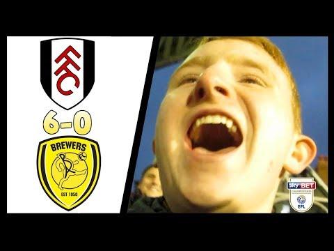 Fulham 6-0 Burton   Vlog   20/01/18   Ting Goes Pap Pap Pap