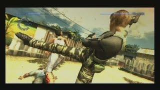 Resident Evil: The Darkside Chronicles Melee Moves