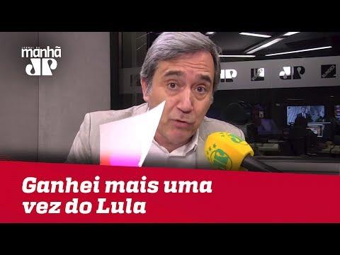Ganhei mais uma vez do Lula | Marco Antonio Villa