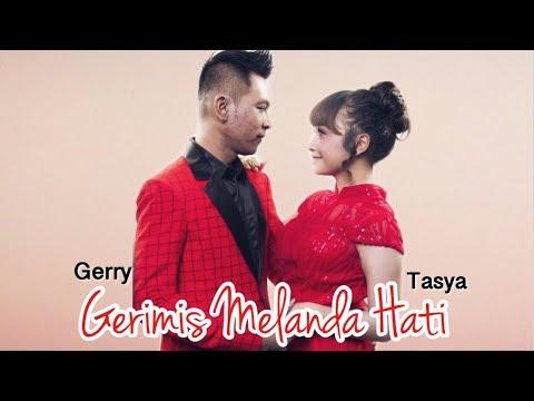 Gerimis Melanda Hati - Tasya Rosmala Feat Gerry Mahessa ( Video Lirik )