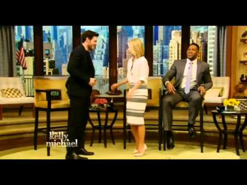 'Cinderella' star Richard Madden on Live! with Kelly and Michael Mar 10th, 2015