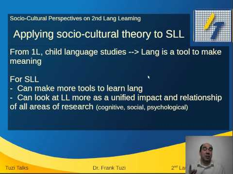 Socio-Cultural Theory in SLA and SLL
