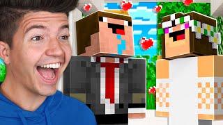 Noob1234 Got MARRIED!  Minecraft