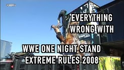Episode #199: Everything Wrong With WWE One Night Stand: Extreme Rules 2008