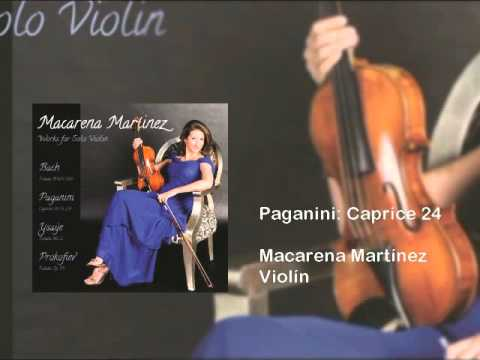 N. Paganini: Capricho 24 for solo violin.