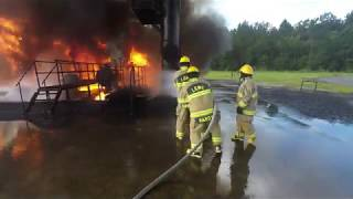 P66 Fire Brigade training CERTC