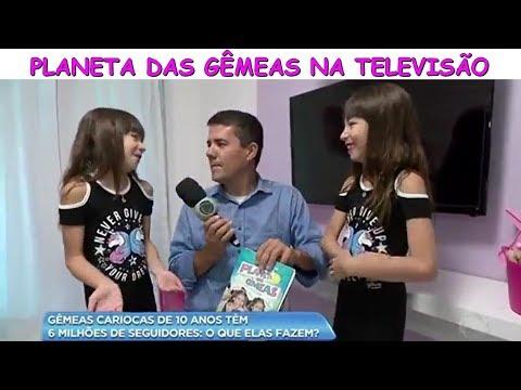 PLANETA DAS GÊMEAS NA TELEVISÃO