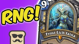 CAN DECK OF WONDERS SAVE MY OPPONENT? | RNG MAGE | HEARTHSTONE | DISGUISED TOAST