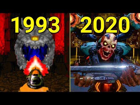 Evolution of Doom Games 1993-2019