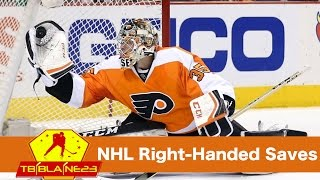 NHL Right-Handed Saves