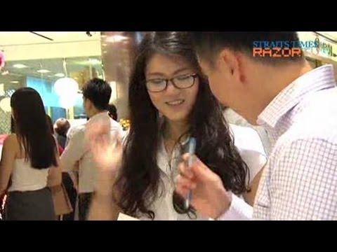 The ideal Singaporean exec (mypaper Executive 2012 Search Ep 1)