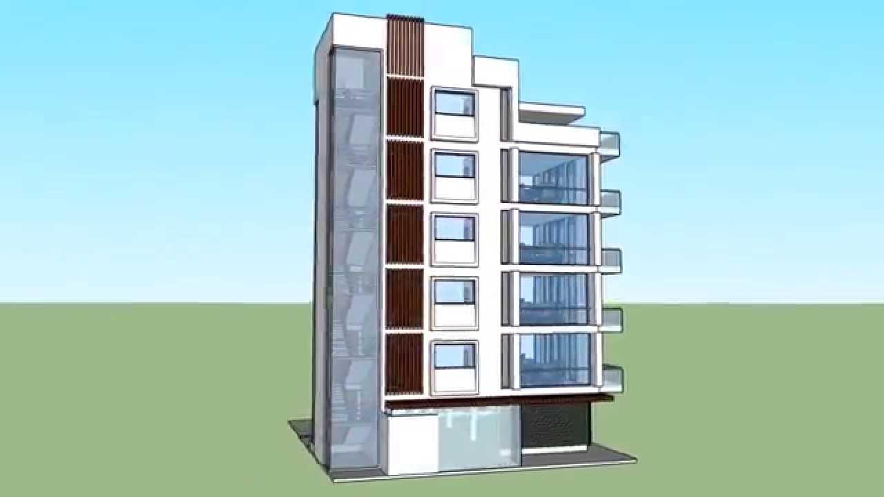 Edificio de apartamentos en san andres islas youtube for Edificios minimalistas