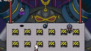 Bomberman Tournament Brain Bomber fight