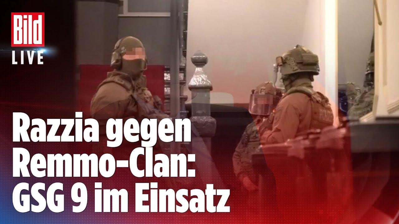 Download 🔴 Razzia gegen Remmo-Clan: GSG 9 stürmt 25 Objekte in Berlin und Brandenburg