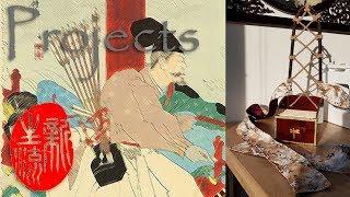 Ebira part2 - DYI Samurai Kyudo & Yabusame quiver - Ancient Japanese archery quiver