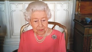 video: Queen's vaccine comments mark one of few interventions during long reign