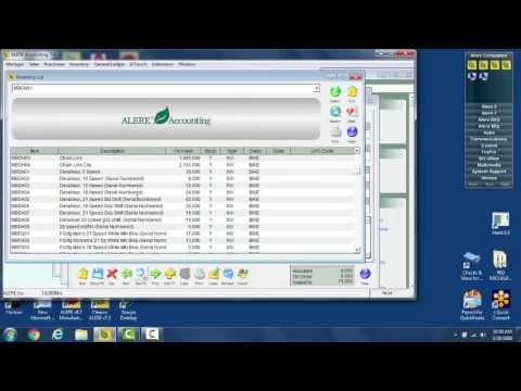 Unlimited Screens Active in ALERE Software