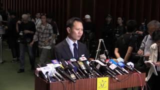 標清 訪問 10 14 02nov2016 郭榮鏗反對人大釋法褫奪梁頌恆 游蕙禎議員資格