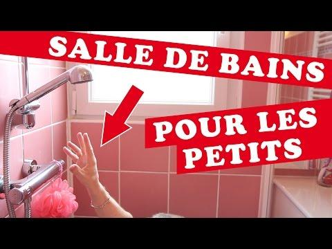 ROOM TOUR | UNE SALLE DE BAINS POUR LES PETITS ?