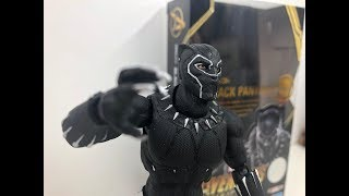 Review: Black Panther S.H.Figuarts Avengers Infinity war Marvel Figure unboxing
