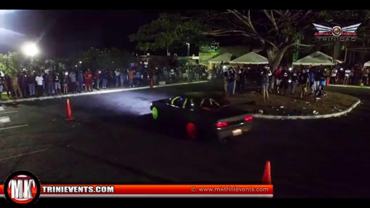 mk car show in mayaro 2015 in 4k dji inspire in trinidad tobago [ 1280 x 720 Pixel ]