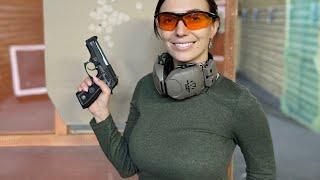 Урок стрельбы в тире Травматический пистолет Вий 19