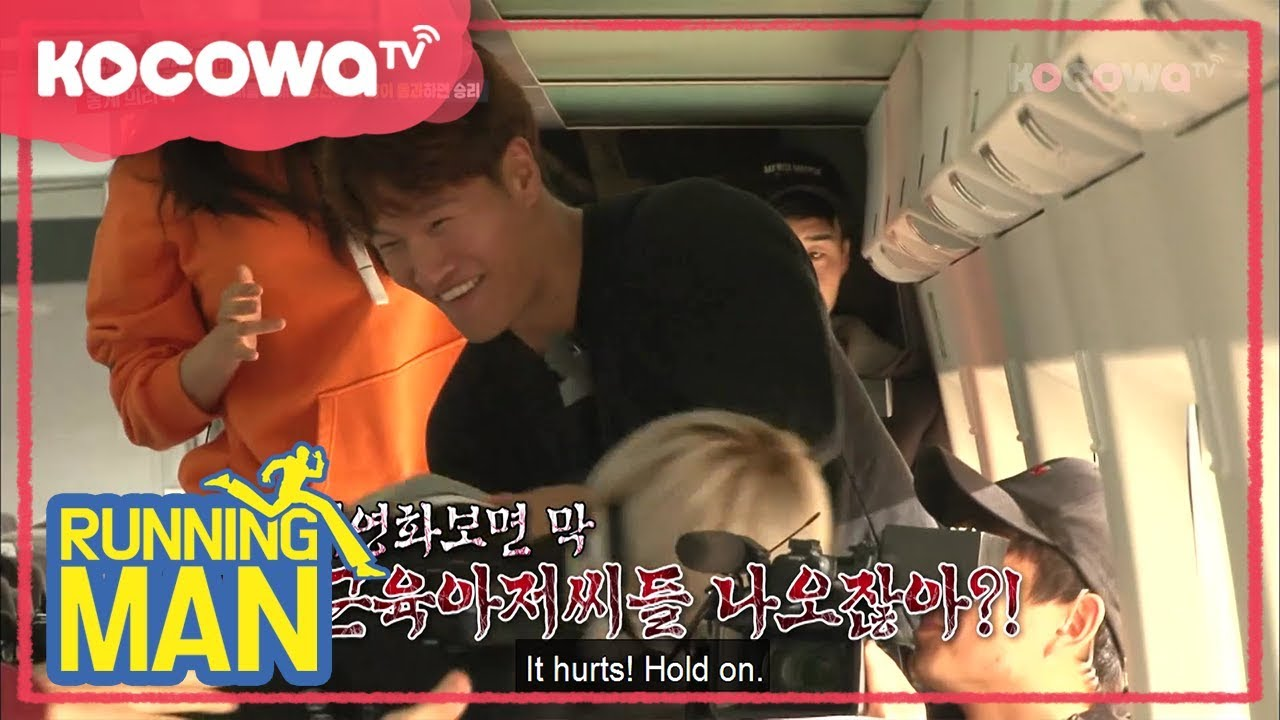 Jongkook Surviving in Zombie train [Running Man Ep 383]