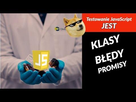 Jest - Testowanie klas JavaScript, błędów oraz Promise (async/await) thumbnail