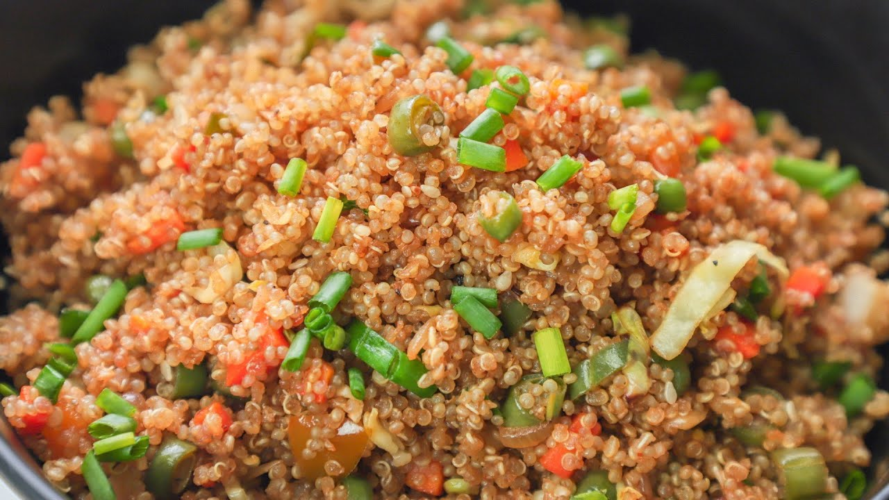 Quinoa Fried Rice - Healthy Quinoa Recipe - Weight loss Recipe