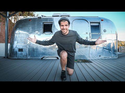 Автодом на Голливудских холмах. Винтажный Airstream из 60-х