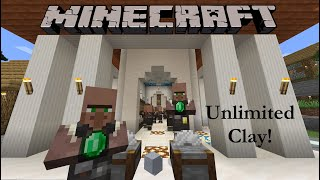 Minecraft: Unlimited Clay Fąrm (1.17, Java)