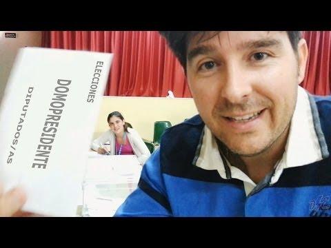Vlog Elecciones Presidente Mesa Electoral