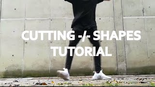#6 TUTORIAL COMBO CUTTING SHAPE ADVANCED/ HỌC NHẢY SHUFFLE DANCE NÂNG CAO