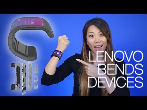 Bendable Lenovo Devices, Project Fi Adds Another, HTC Vive Business Edition